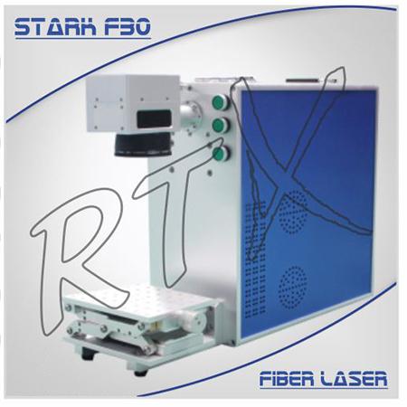 Utilaj portabil de marcat si gravat metale STARK F30 Fiber Laser